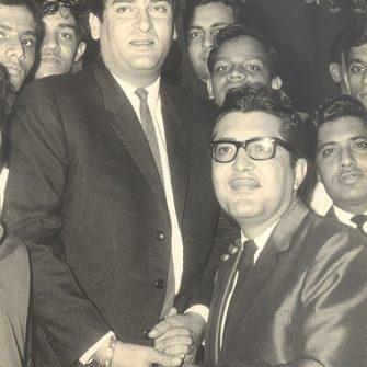 Shammi Kapoor and N.N. Sippy