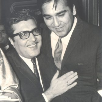 N.N. Sippy with Sunil Dutt